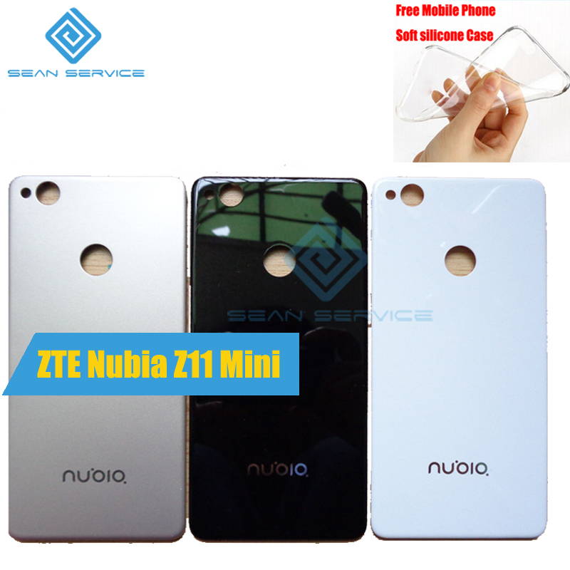 For Original For ZTE nubia Z11 Mini NX529J Battery Rear Cover Replacement Parts Battery Phone Rear cover Nubia Z11 Mini Stock title=