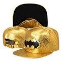 Новый Крокодил Зерна шаблон бейсболка hero Бэтмен insignia плоским шляпа хип-хоп шляпа оптовая приток людей