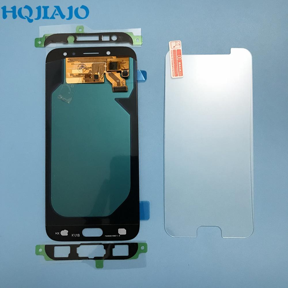 Écran LCD AMOLED 10 pièce/lot pour Samsung Galaxy J7 Pro 2017 J730 J730F J730FM écran tactile numériseur assemblée J730