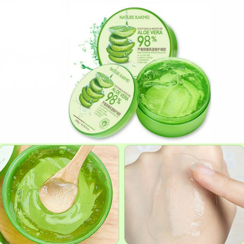 Aloe Vera Gel Natural Face Creams Moisturizer Treatment Gel For Skin Repairing Natural Skin Care