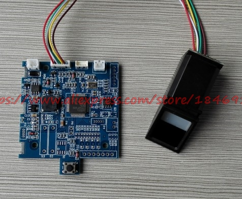 Fingerprint Safe Circuit Board Fingerprint Lock Control Board Induction Starting With Finger