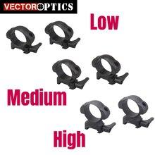 Векторная оптика тактическая сталь 30 мм низкий средний высокий профиль Quick Release Picatinny Weaver Монтажное кольцо кронштейн 21 мм база