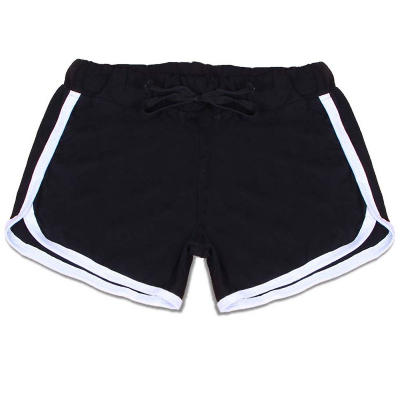 black sport shorts girls