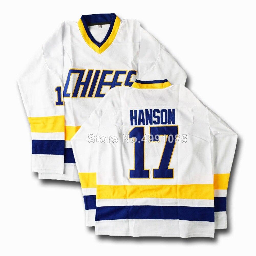 MM MASMIG Slap Shot Lemieux 1 Killer 3 Hanson 16 17 18 Ice Hockey Jerseys