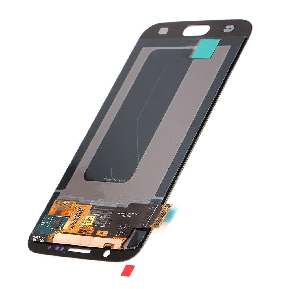 Pour Samsung galaxy S6 G920 Convertisseur analogique-numérique D'écran Tactile D'affichage D'affichage à cristaux liquides G920i G920P G920f G920V G920A G920W LCDs De Téléphone Portable Remplacement