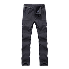 Winter ski pants men waterproof snowboarding pants thicken outdoor fleece snowboard trousers men skiing snow pants