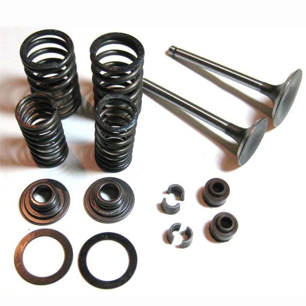 US $3 99 |Valve Assembly GY6 150CC Cylinder Head Parts Valve set,157QMJ  Engine,ATV,Gokart,Scooter parts-in Engines from Automobiles & Motorcycles  on