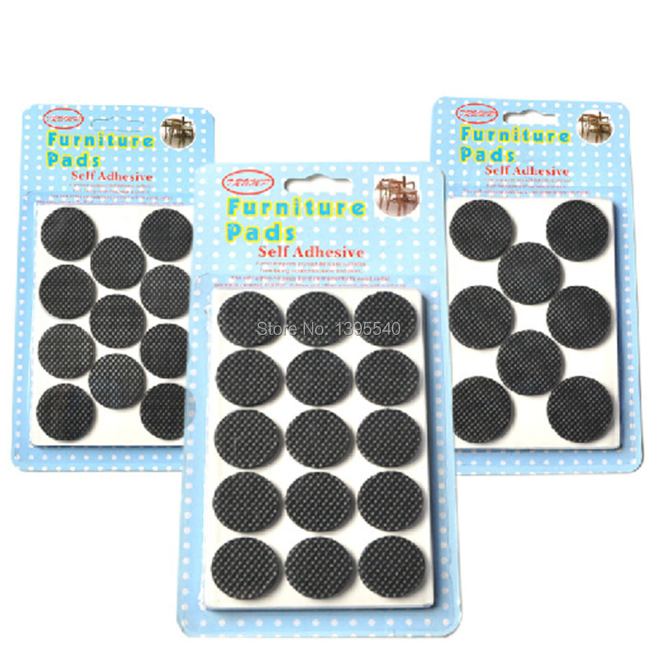 Exceptionnel New One Set(2pcs) Table Leg Pads Adhesive Furniture Leg Feet Non Slip Rug Felt  Pads Protetcors Anti Slip Mat Soft Close Fittings In Furniture Cups From  Home ...