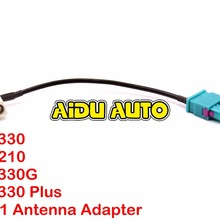 FOR VW Car Radio RCN210 RCD330 RCD330 G FAKRA Antenna Adapter Radio 2 To 1 MFD 1