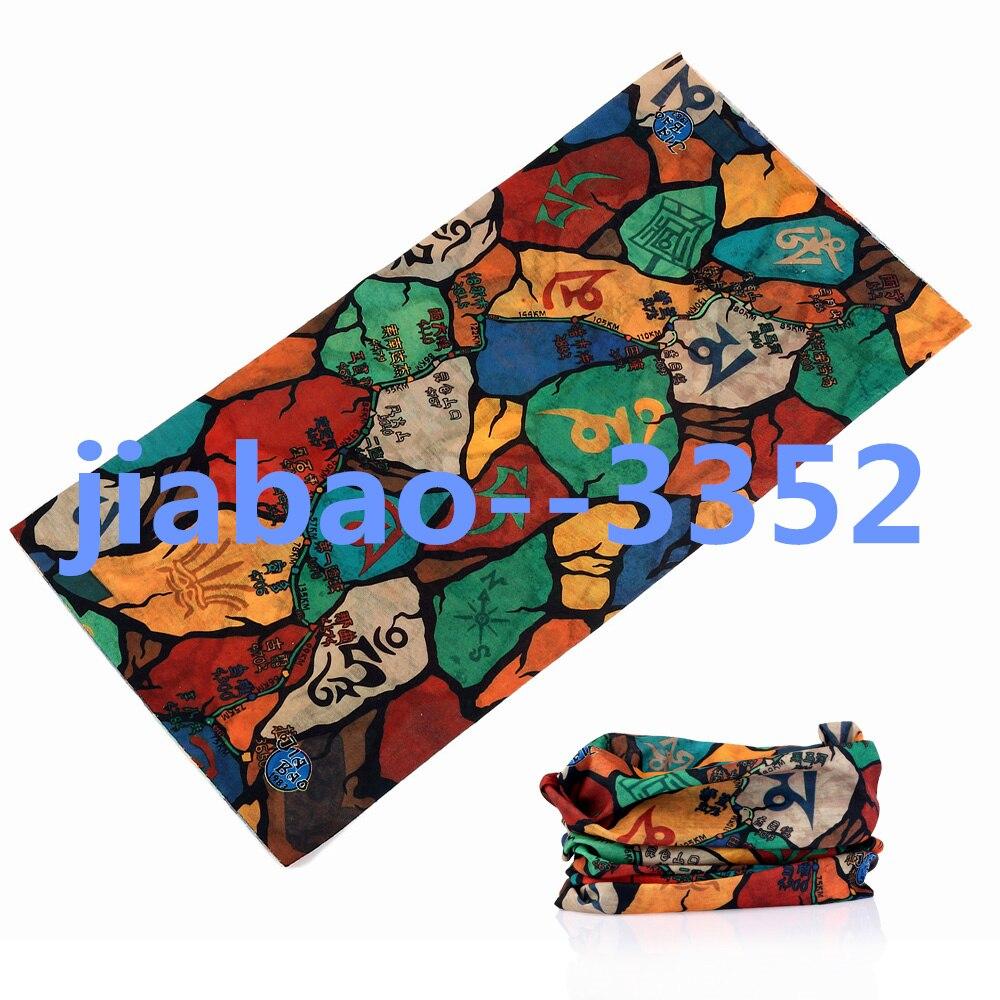 2017 Seamless Men Scarf ring Magic Multifunctional Bandanas Printed Muffler Unisex scarf