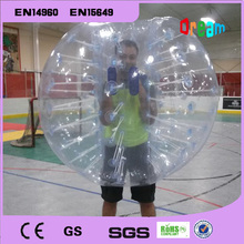 Outdoor Games Bubble Soccer Plastic 1.5m Inflatable Bubble Football Body Zorbing Ball Bubble Soccer Ball Bumper Football