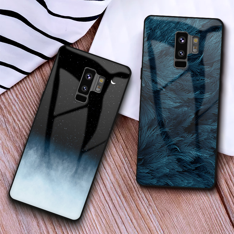 GFAITH For Samsung Galaxy S10 Plus Case Tempered Glass Black Shockproof Cover For Samsung S9 S9 Plus Note 8 Note 9 S8 plus CasesGFAITH For Samsung Galaxy S10 Plus Case Tempered Glass Black Shockproof Cover For Samsung S9 S9 Plus Note 8 Note 9 S8 plus Cases