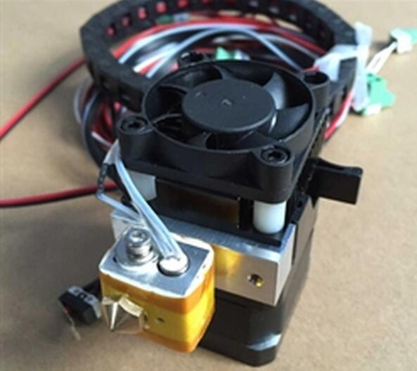 extruder for wanhao I3 wanhao granding metal duplicator 4s wanhao d4s 3d printer double extruder with free filaments memory card usb cable