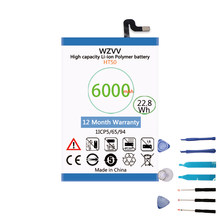 wzvv 6000mAh Li-Polymer Battery for Homtom HT50 batteries(China)