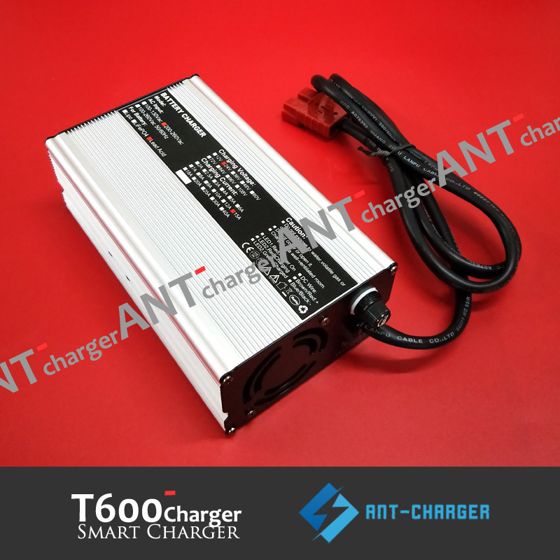 New 28.8V Battery Charger LiFePo with Cables 28V Free Shipping from US Seller
