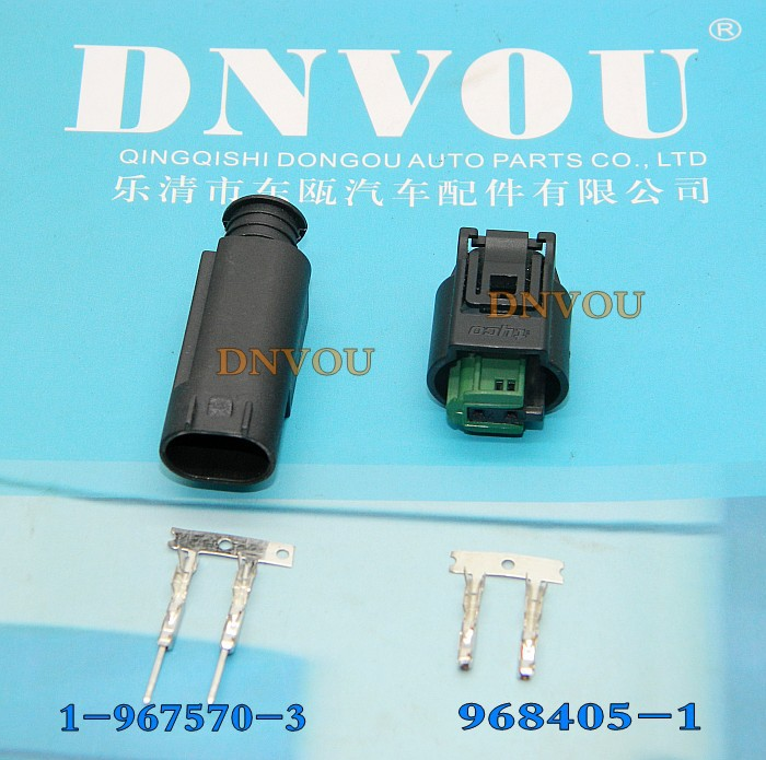 1set Oxygen sensor plug connectors Electrical Wire connector Plug 1-967570-3 968405-1 water temperature sensor [vk] 553602 1 50 pin champ latch plug screw connectors