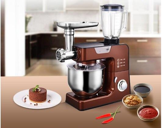 Tasse à jus machine à pétrir automatique fouet à gâteau mélangeur de pâte intelligent mélangeur 8 réglage de vitesse 5,5l viande hachée