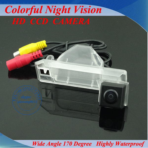 Продвижение CCD Вид Сзади Автомобиля Парковка Реверсивный Резервное копирование Камеры 170 Градусов Для Misubishi Asx