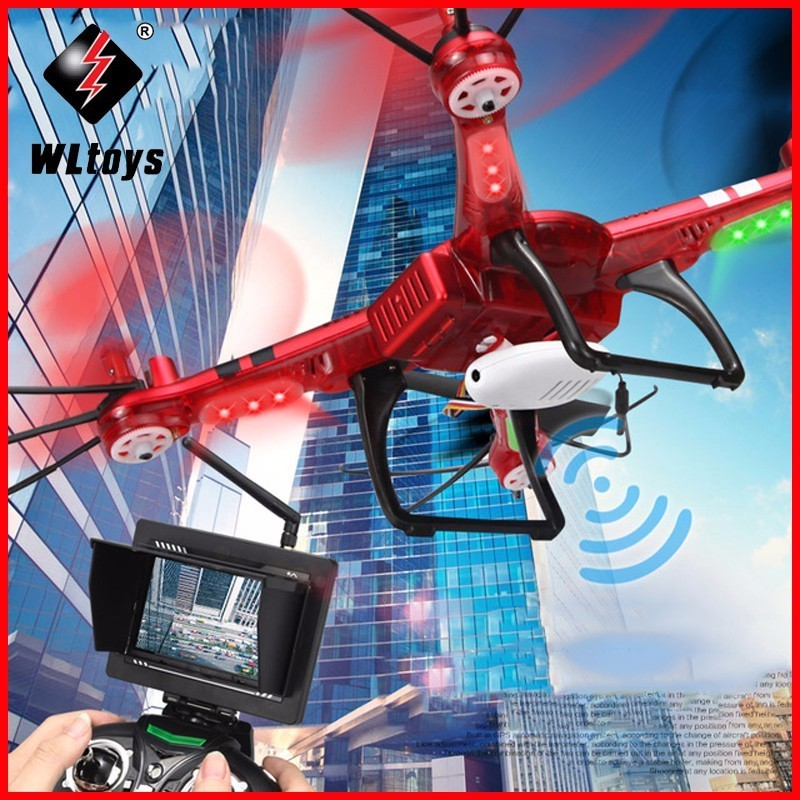 WLtoys Q222 Quadcopter Drone 4CH Q222G 5.8G FPV Digital Transmission Drones Helicopter HD Camera With LCD Screen Toy For GiftsWLtoys Q222 Quadcopter Drone 4CH Q222G 5.8G FPV Digital Transmission Drones Helicopter HD Camera With LCD Screen Toy For Gifts