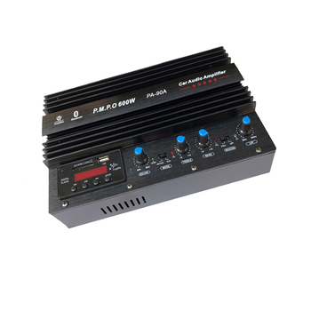 12V 220V Car Sound / Household Power Amplifier Board Dual Channel High Home Card Bluetooth Radio Display Amplifiers