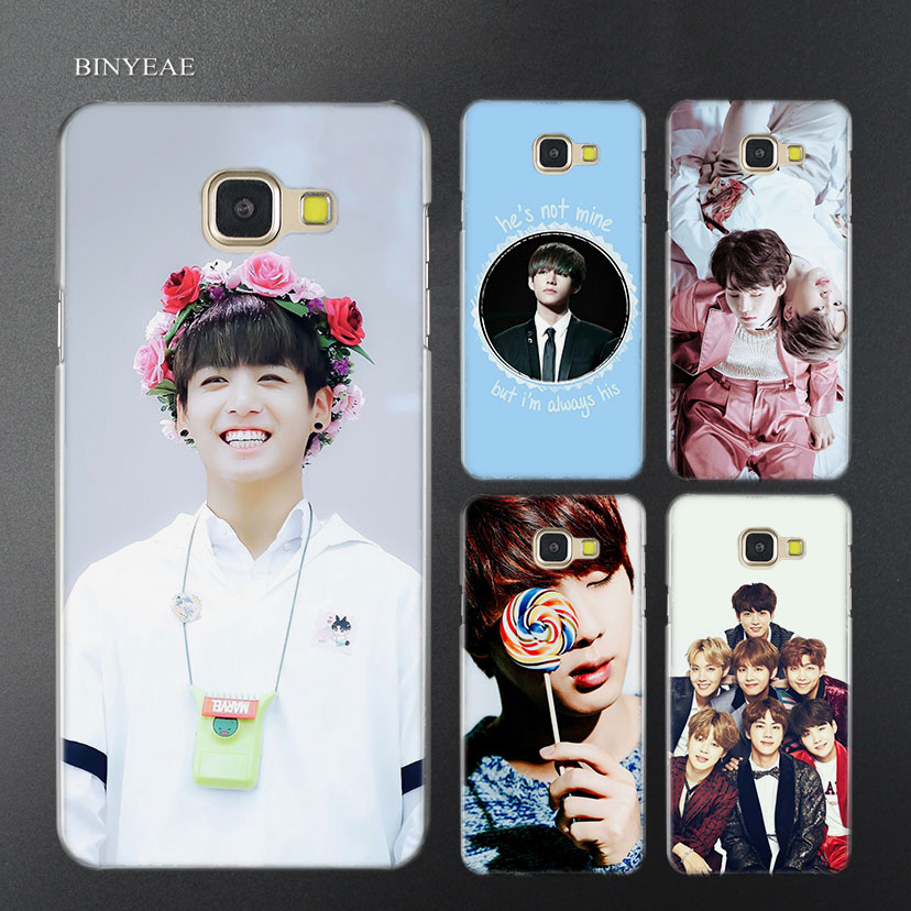Binyeae Sailor Moon Anime Transparent Case Cover For Samsung A5 A3 A8 A7 2017 2018 2016 Half-wrapped Case