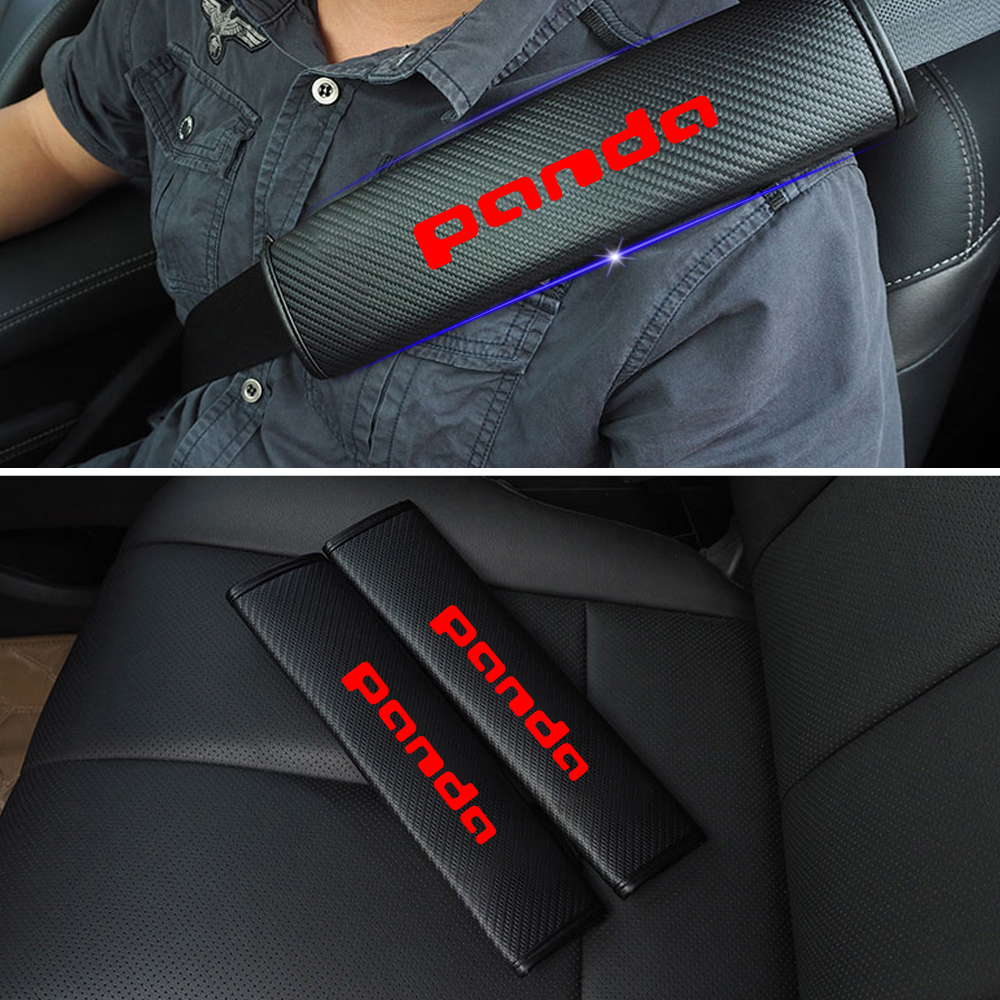 reflexivo carro tampa do cinto de seguranca shoulder pads cinto de seguranca seguro para fiat qubo