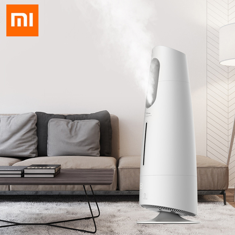 Xiaomi DEERMA Mist Humidifier 4L Air Purifying for Air Conditioned Rooms Office Household with Filter Humidifier