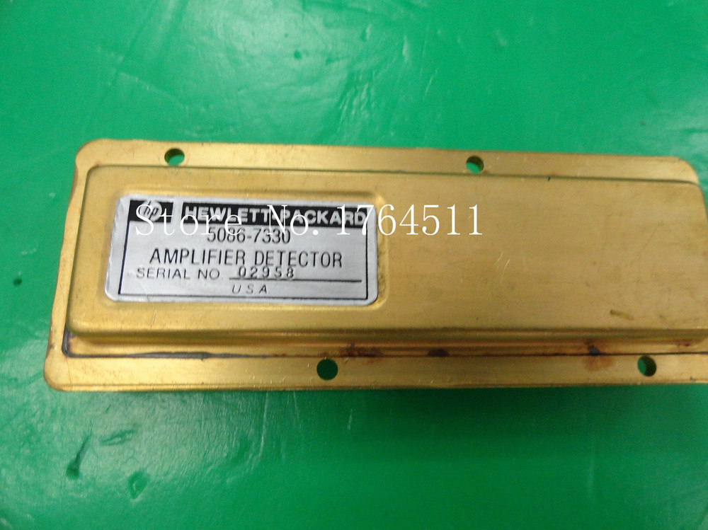 [BELLA] The Supply Of Original 5086-7330 Detector / Amplifier