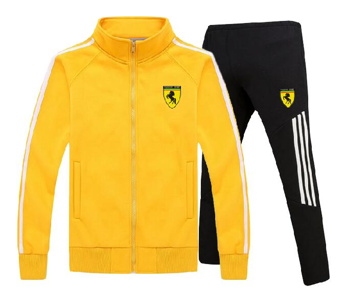 Men's Gym TrackSuit Sport Jacket Suit Set Trousers Jogging Bottom Top Sweatsuits Blazer Train Track Suit Baseball