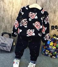 2016 Kids New Children Fashion Hoodies Boys Warm Add fleece upset Sweatshirts hoodies Kids Fashion Top Clothes