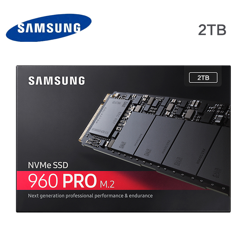 Samsung 960 PRO 2TB M.2 SSD solid state hard disk NVMe MZ-V6P2T0Z 960 PRO NVMe SSD 2TB цена