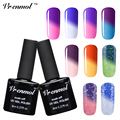 Vrenmol 1pcs Temperature Change Color UV Gel Polish  Soak-off Gel Nail LED Lamp Gel Thermal Mood Changing Nail Varnish