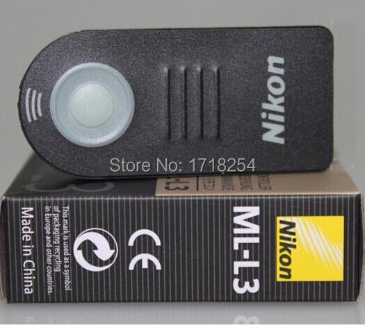 ML L3 MLL3 Wireless Camera Shutter Remote Control For Nik n DSLR V2 J2 J3 D90