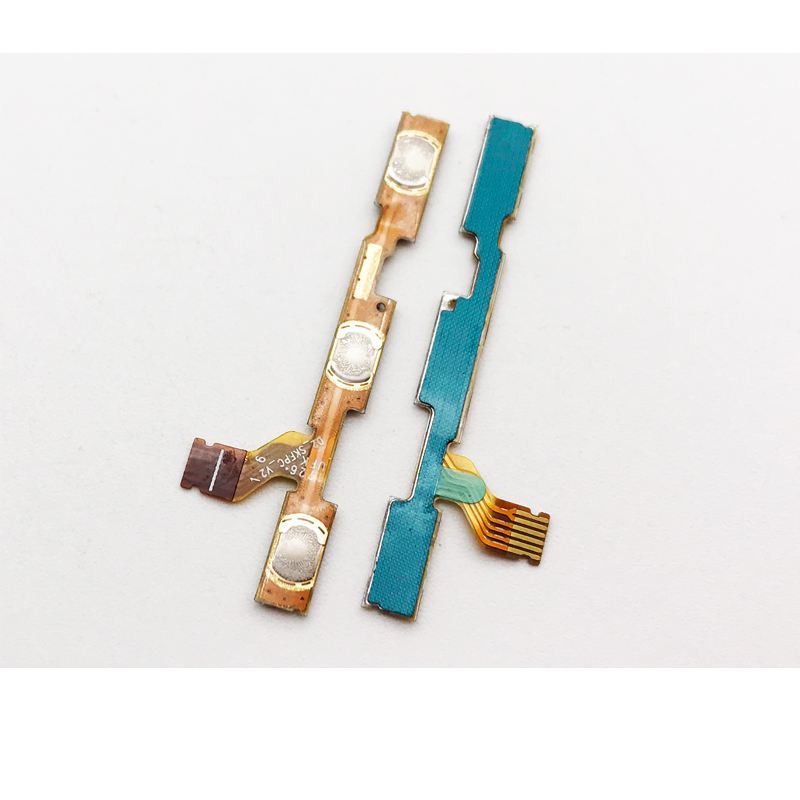 2 Pcs/Lot ,For Xiaomi Mi A1 Mi 5X  Power On/Off Volume Button Key Flex Cable Ribbon(China)