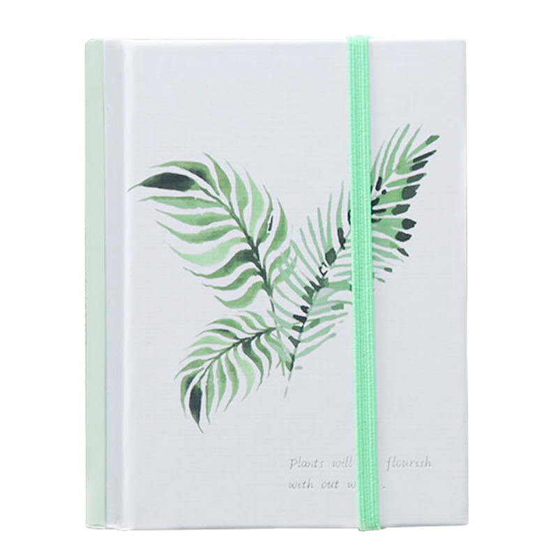 JOUDOO Flexy Cover A6 Notebook Creative Elastic Band Travel 128 Sheets Daily Note Book School Office Supplies joudoo vintage classic galaxy night sky printed note book for kids daily week planner notebook school office supplies notepad