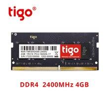 Tigo Оперативная память DDR4 4 Гб 2400 МГц Фирменная Новинка память ddr 4 SoDIMM для ноутбука Мини ПК памяти обеспечивает быструю передачу и игры