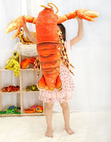 Very Nice Soft 1 M 39 Inch Lobster Plush Toy Stuffed Animal Doll Soft Toy Pillow Cushion Kids Xmas Gift
