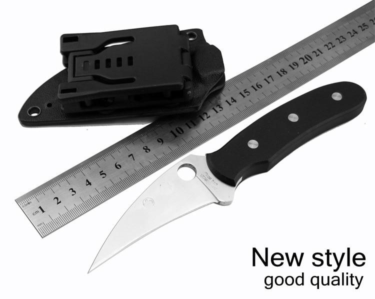 Outdoor Karambit font b Knife b font 5CR15 Balde Hunting font b Knives b font Camping