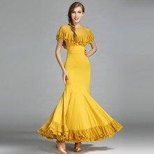 salsa flamenco ballroom dance dress skirt standard ballroom dress flamenco dress ballroom dress waltz modern dance costumes