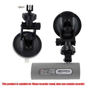 Original para 70mai coche DVR Dash Cam coche Cámara ventosa soporte, soporte de xiaomi 70mai cámara de coche WiFi grabadora de conducción 1 piezas