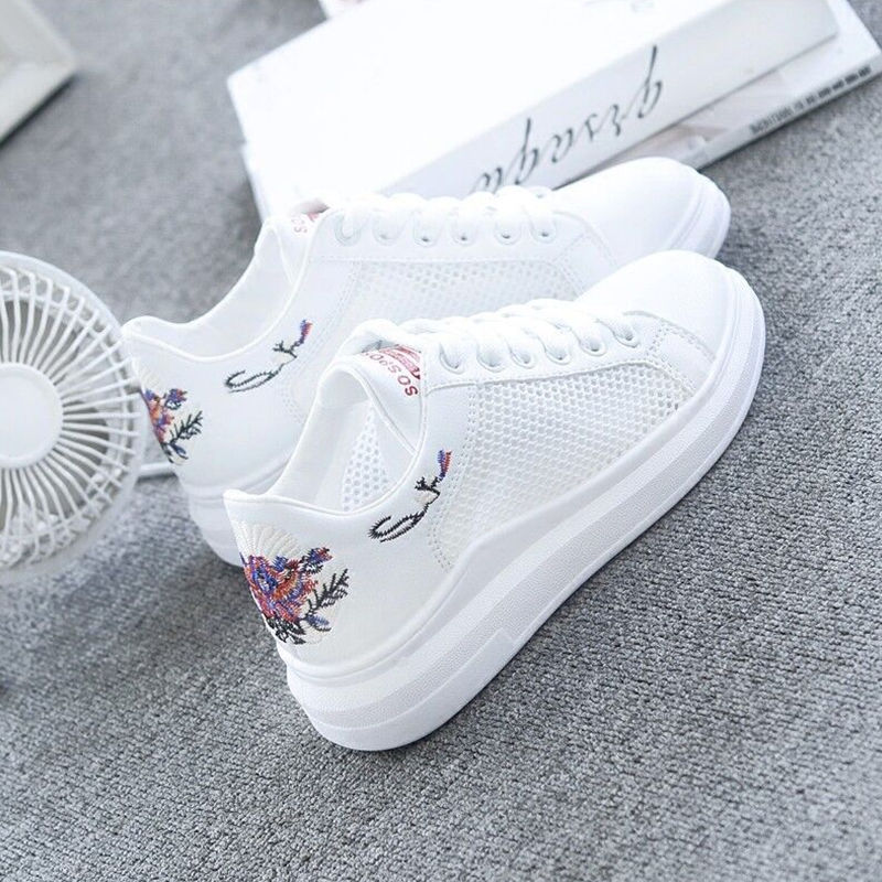 DAOKFPO 2018 Fashion White Shoes Female