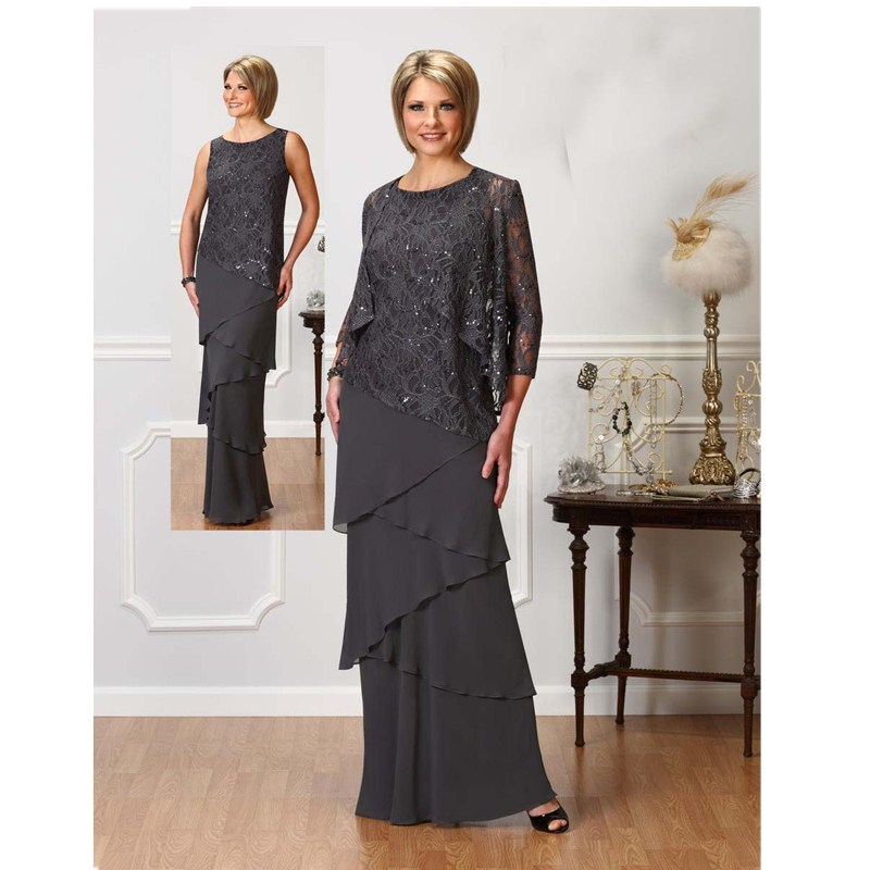 Charming Wedding Guest Outfit Floor Length Mother Of The