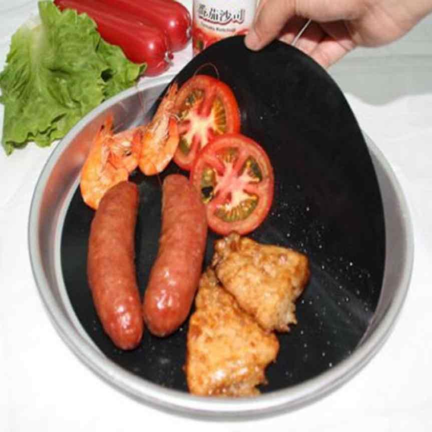 Téflon Pan Tapis De Cuisson Antiadhésive Feuille de Revêtement Wok Tapis Cuisine Outils De Cuisson Haute Température Poêle Antiadhésive Poêle Revêtement