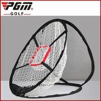PGM Golf Jaulas De Nylon Plegable Portátil Ultra-ligero de Metal con Memoria Chip Shot Objetivo de Entrenamiento de Golf Jaulas de Buey ojo Bolsa Gratis
