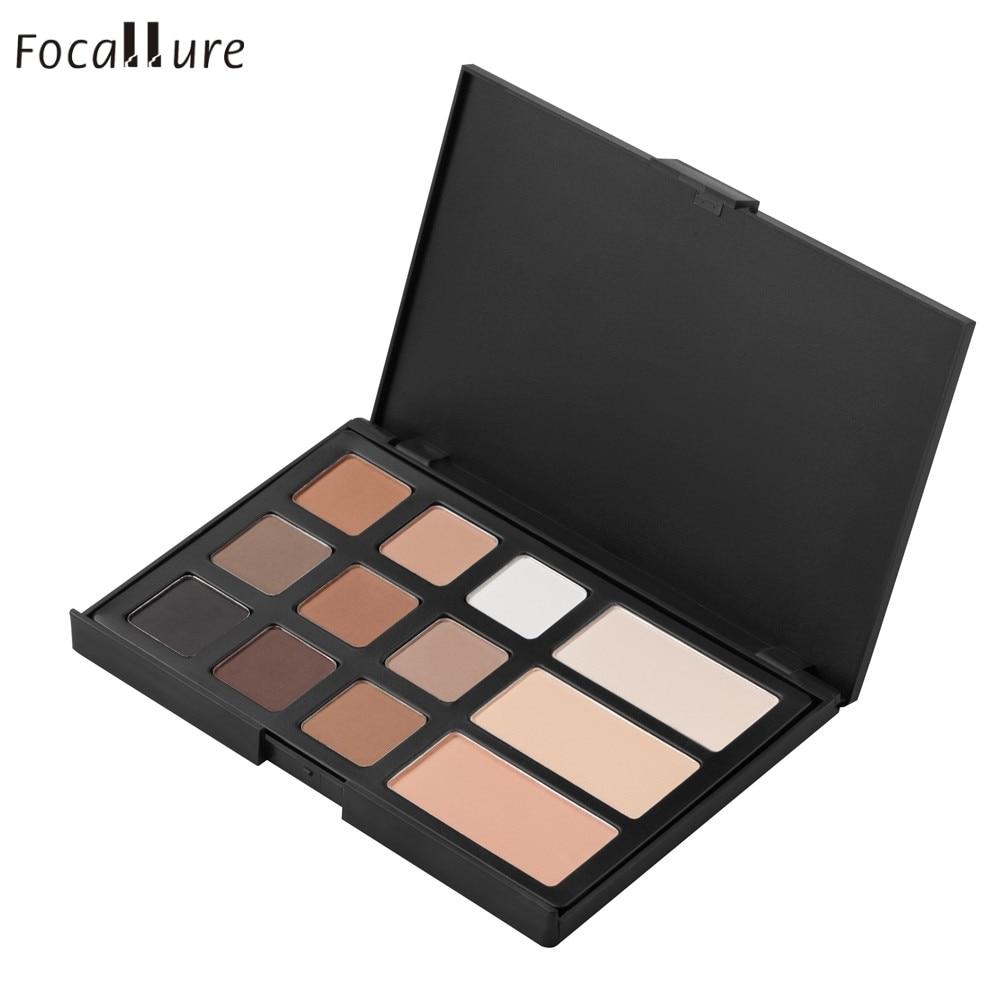 Focallure Eyebrow Powder Eye Brow Palette Cosmetic Makeup Shading Kit G6729