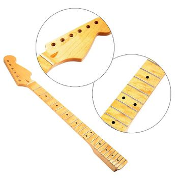 цена на 1Pc Canadian Maple Wood Electric Guitar Neck 22 Fret Parts Replacement Guitar Parts Accessories