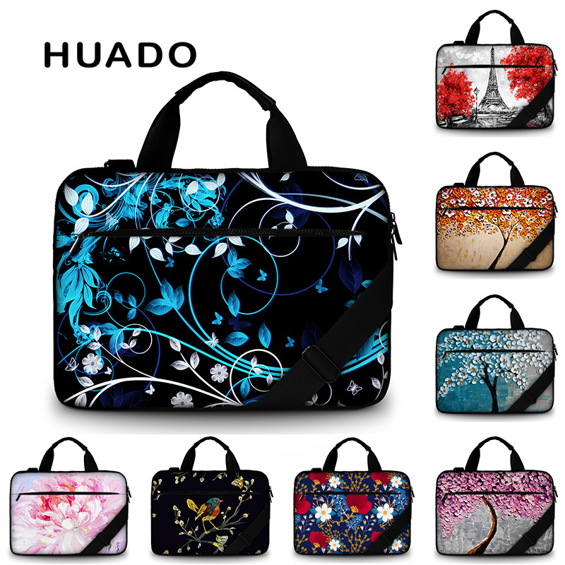 Laptop Briefcase Bright Crystals and Gems Multi-Functional Laptop Bag for Women Fit for 15 Inch Computer Notebook MacBook