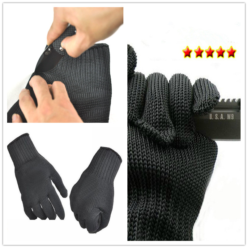 Protective-Gloves 100%Kevlar Working Cut-Resistant-Level Anti-Abrasion 5