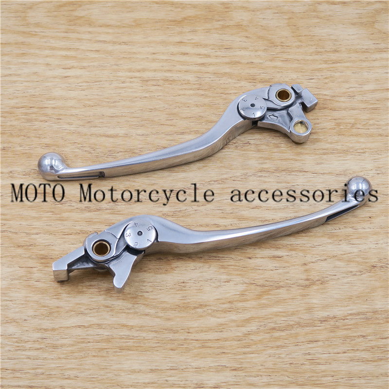 Motorcycle polishing Brake Clutch Levers For SUZUKI Bandit 1200S/GSF1200S Bandit 1250S/GSF1250SA ABS GSX1300RA ABS SV1000S 1pc white or green polishing paste wax polishing compounds for high lustre finishing on steels hard metals durale quality