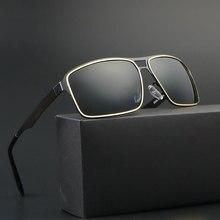 2017 New Fashion oversized Polarized sunglasses luxury square sunglases men brand designer oculos de sol masculino lentes ray
